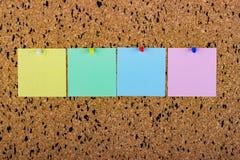 blanka brädekorkanmärkningar mellanrumsanmärkningar för kopieringsutrymme Fotografering för Bildbyråer