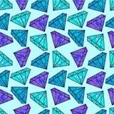 blanka diamanter vektor illustrationer