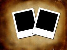 Blanka fotoramar Arkivfoto