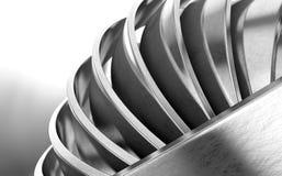 Blanka metallcirklar vektor illustrationer