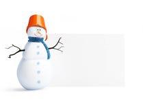 blanka snowmen vektor illustrationer