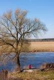 Blanke Bäume Lizenzfreies Stockfoto