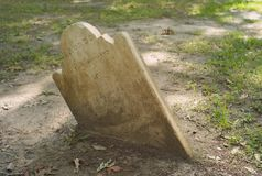 A Blanked Old Tombstone stock photos