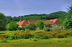 Blankenburg Michaelstein修道院 库存照片