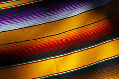 Blanket. Colorful Hand Woven Mexican Blanket Royalty Free Stock Photography