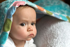 Blanket Baby Royalty Free Stock Photo