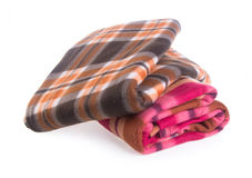 Blanket, blanket on the background Royalty Free Stock Photos