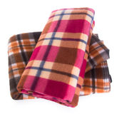 Blanket, blanket on the background Royalty Free Stock Image