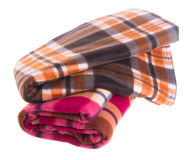 Blanket, blanket on the background Stock Image