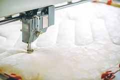 Blanket factory production Royalty Free Stock Photography