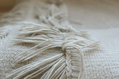 Blanket fringe Royalty Free Stock Images