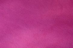 The blanket of furry pink fleece fabric. A background texture of light pink soft plush fleece materia. L Stock Images