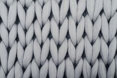 Blanket from merino wool Stock Image