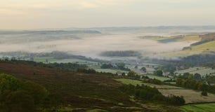 Blanket of mist royalty free stock photos