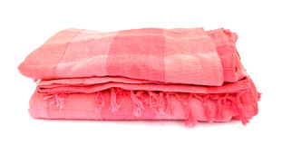 Blanket pink Royalty Free Stock Photography