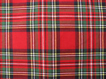 Blanket red and green Royalty Free Stock Photo