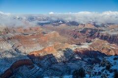 Winter at Grand Canyon South Rim Royalty Free Stock Photography