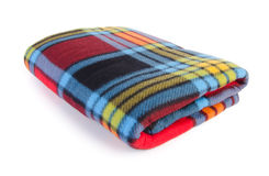 Blanket, Soft warm blanket on background Royalty Free Stock Images