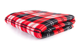 Blanket, Soft warm blanket on background Royalty Free Stock Photo