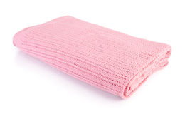 Blanket, Soft warm blanket on background Royalty Free Stock Photography