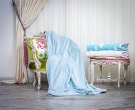 Blanket throw Stock Photos