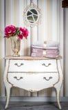 Blanket throw. On the sofa royalty free stock photos