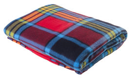 Blanket on the white background Royalty Free Stock Photography