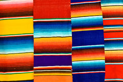 blankets цветастый мексиканец Стоковое фото RF