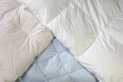 blankets пуховое Стоковые Изображения RF