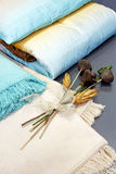 Blankets decor Stock Photography