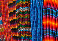 Blankets from Guatemala Royalty Free Stock Image