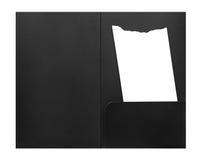Blankowechselempfang im Umschlag Lizenzfreie Stockbilder