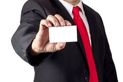 blankt affärskort arkivbild