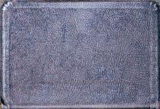 blankt blåaktigt läder Arkivbild