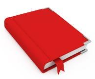 blankt bokomslag 3d royaltyfri illustrationer