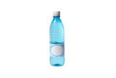 blankt flasketikettvatten Royaltyfri Bild