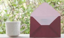 blankt kuvert Royaltyfria Bilder