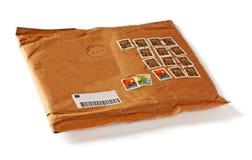 blankt kuvert Fotografering för Bildbyråer
