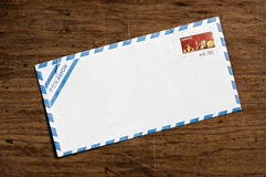 blankt kuvert royaltyfria foton