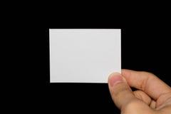 blankt papper Arkivfoto