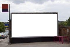 blankt stort stationsdrev för affischtavla Fotografering för Bildbyråer