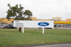 Blanquefort Μπορντώ, Aquitaine/Γαλλία - 06 14 2018: Εγκαταστάσεις μετάδοσης παραγωγής κιβωτίων ταχυτήτων αυτοκινήτων εργοστασίων  στοκ φωτογραφία με δικαίωμα ελεύθερης χρήσης