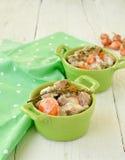 Blanquette av vealen Traditionell fransk kokkonst Royaltyfri Fotografi