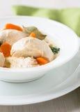 Blanquette del pollame, stufato della carne bianca Fotografie Stock Libere da Diritti