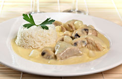 Blanquette of veal Royalty Free Stock Photo