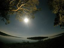 Blanquita湖 免版税图库摄影