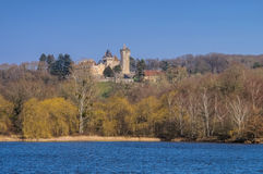 Blanzy Chateau du Plessis in France Stock Photo