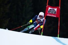 BLARDONE Massimiliano in Audi Fis Alpine Skiing World-Kop Men' royalty-vrije stock afbeelding