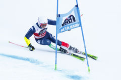 BLARDONE Massimiliano en la taza Men' de Audi Fis Alpine Skiing World Imagenes de archivo