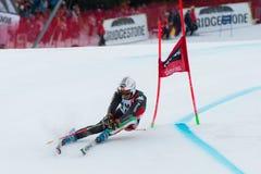 BLARDONE Massimiliano (ITA). Alta Badia, ITALY 22 December 2013. BLARDONE Massimiliano (ITA) competing in the Audi FIS Alpine Skiing World Cup MEN'S GIANT SLALOM Stock Photography